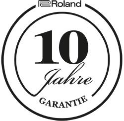 Roland-10Jahre-Garantie