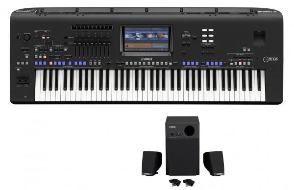 Yamaha Genos mit Speaker