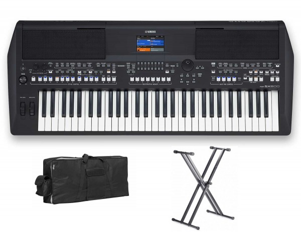 Yamaha PSR-SX600 Bundle Set