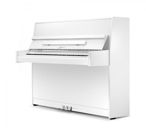 Piano Ritmüller 112 weiß