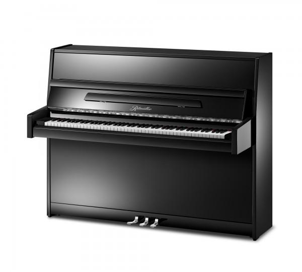 Piano Ritmüller 112 schwarz